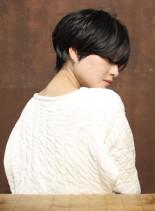 大人かわいいショートヘア(髪型ショートヘア)