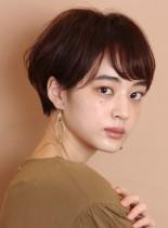 ワンカールパーマ☆大人のショートヘア(髪型ショートヘア)