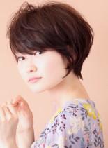2wayシークレットパーマ◇ショート(髪型ショートヘア)