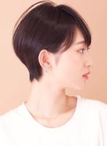 すっきり◇大人美人ショート(髪型ショートヘア)