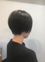 大人可愛いショートカット☆ブロー不要(髪型ショートヘア)