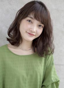 30代人気☆大人ゆるふわボブ(ビューティーナビ)