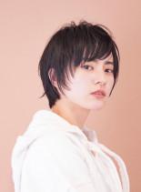 ☆乾かすだけ☆無造作大人ショート(髪型ショートヘア)