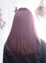イルミナカラー・トワイライト9トーン(髪型ロング)