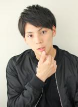 ソフトアップバング(髪型メンズ)