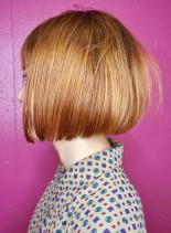 40代・50代 美しいラインのボブ(髪型ボブ)