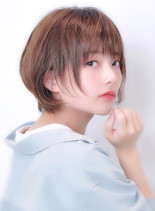 本田翼風おとな可愛いひし形ショート(髪型ショートヘア)