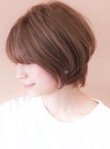 ひし形◇黄金比ショート(髪型ショートヘア)