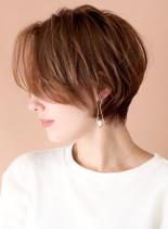 4D×フォルム◇トリプルレイヤーショート(髪型ショートヘア)