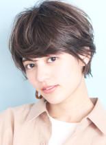 大人の小顔バランスショート☆(髪型ショートヘア)