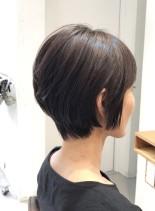 30代40代 大人可愛いショートボブ(髪型ショートヘア)