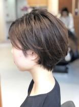 30代40代 大人可愛いショート(髪型ショートヘア)