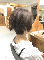 30代40代 大人綺麗なショートボブ(髪型ショートヘア)