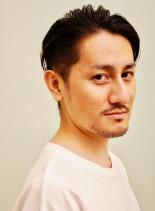 30代・40代大人ツーブロックスタイル(髪型メンズ)