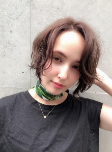 夏髪エッジショート(ビューティーナビ)