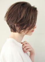 カジュアルウェーブ(髪型ショートヘア)