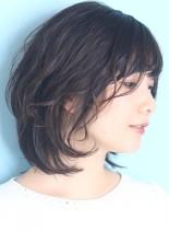 30代*40代大人ウルフカール☆(髪型ボブ)