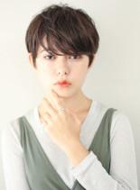 セクシーマッシュ(髪型ショートヘア)