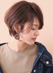 カジュアル美人ショートボブ☆(ビューティーナビ)
