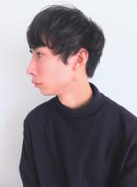 ナチュラルマッシュショート(髪型メンズ)