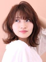☆30代・40代 大人のの外はねロブ☆(髪型ミディアム)