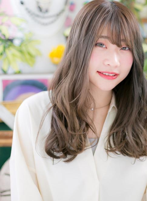 ロング】大人グレージュ☆グラマラス愛されロング/COVER HAIR