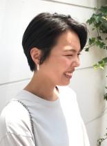 30代のおすすめハンサムショート(髪型ショートヘア)