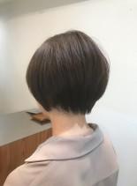 ふんわり大人可愛いショートボブ☆(髪型ショートヘア)