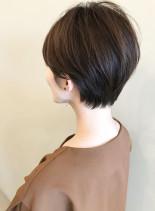 美シルエットなショートヘア(髪型ショートヘア)