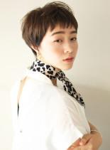 ハンサムすっきりショート(髪型ベリーショート)