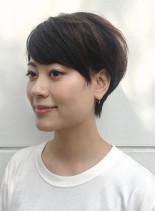 森星風ショートヘアー(髪型ショートヘア)