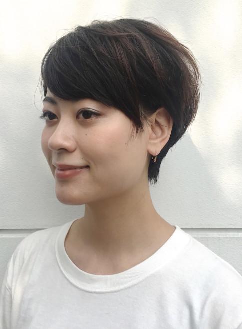ショートヘア】森星風ショートヘアー/BEAUTRIUM 福岡の髪型