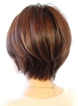 30代40代に人気コンパクトショート(髪型ショートヘア)