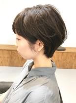 30代・40代◎女性らしいショート(髪型ショートヘア)