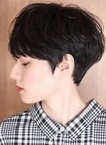 30代*40代大人のゆるふわショート☆(髪型ベリーショート)
