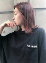 イルミナカラーミディ(髪型ミディアム)