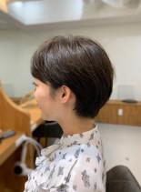 30代40代 大人可愛いベリーショート(髪型ショートヘア)