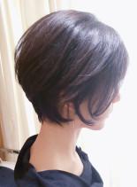 30代40代50代女性らしい大人ショート(髪型ショートヘア)