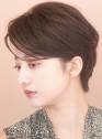 ☆大人の前髪長め☆ひし形ショートヘア