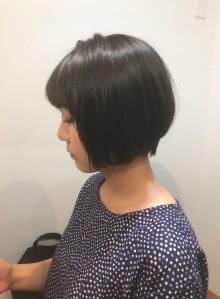 大人可愛いショートボブ☆(ビューティーナビ)