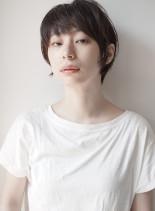 大人のマッシュショートスタイル(髪型ショートヘア)