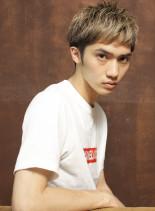 ハイトーンベリーショート(髪型メンズ)