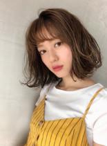 シースルー☆デザインボブ(髪型ボブ)
