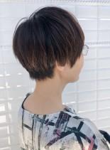 スタイリング剤不要!ショート(髪型ショートヘア)