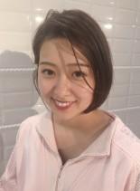 柔らかショートボブ(髪型ショートヘア)