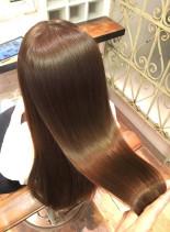 美髪ツヤ髪 ダメージレスカラー(髪型ロング)