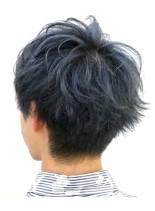 爽やかメンズパーマスタイル(髪型メンズ)