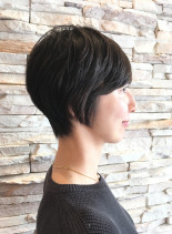 40代、50代の大人ショートスタイル(髪型ショートヘア)