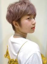 夏のショートヘア(髪型ベリーショート)