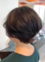 襟足スッキリハンサムショート(髪型ショートヘア)
